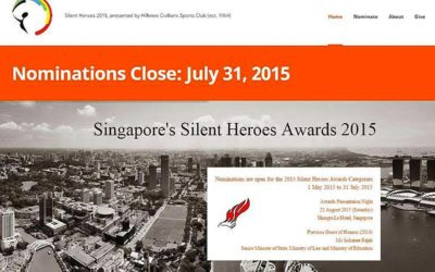 Know of a 'Silent Hero' ? Nominate him for an award – The Straits Times