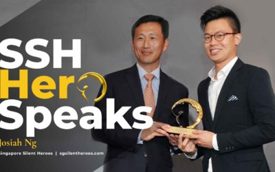 SSH Winner Josiah Ng speaks at 2017 event launch