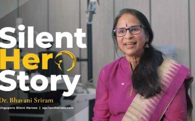 Dr. Bhavani Sriram – 2019 SG Silent Hero