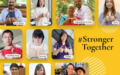 SSH's support to #StrongerTogether movement