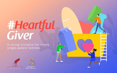 #HeartfulGiver – A Caring Initiative by CAS & SSH