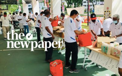 Single-parent families in Jurong get help from Civilians Association of Singapore – The Newpaper